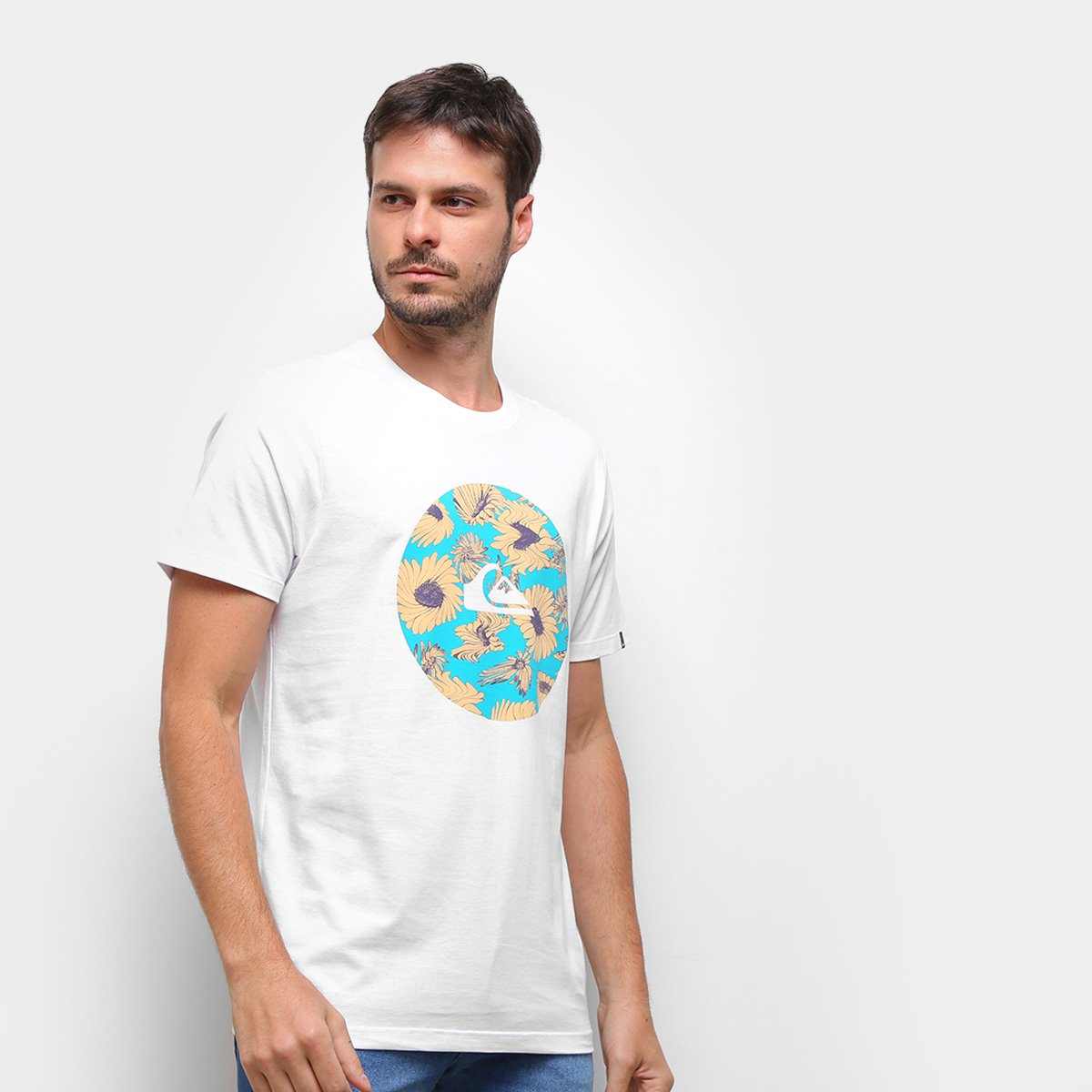 Camiseta Quiksilver Fast Time Masculina