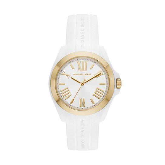 c1bd231c7 Relógio Michael Kors Feminino Bradshaw Bicolor - MK2730/8BN MK2730/8BN -  Branco