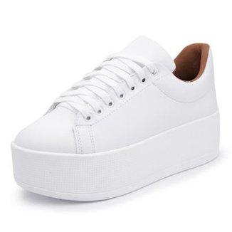 53c4577cb82 Tênis Top Franca Shoes Branco - Calçados