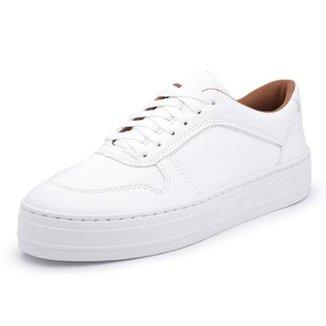 ab188b0826e Tênis Top Franca Shoes Feminino Branco Tamanho 33 - Calçados