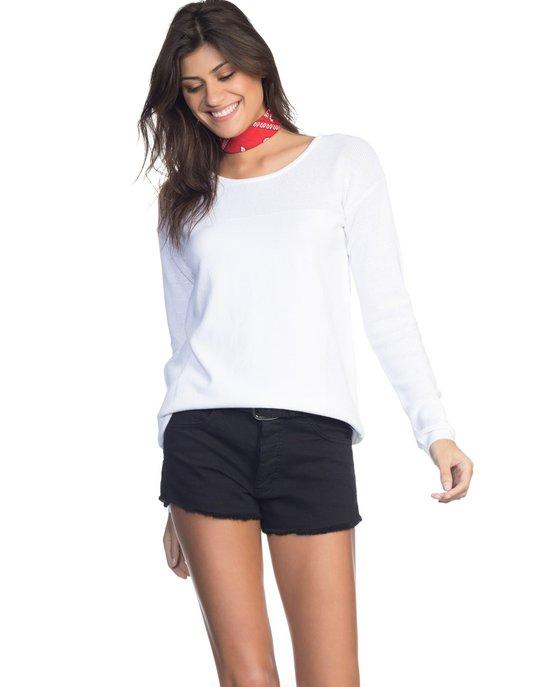 26321df10 Blusa Amaro Tricot Slim - Compre Agora