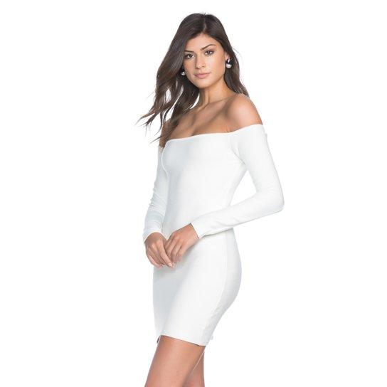 1e19af4a2 Vestido Amaro Feminino Ombro A Ombro Tricot - Compre Agora