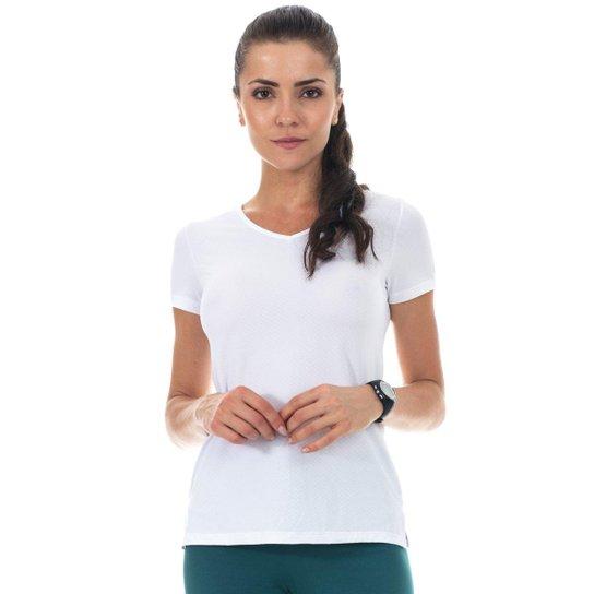 5d328cbcbe Blusa Fit Way Manly Feminina - Branco - Compre Agora