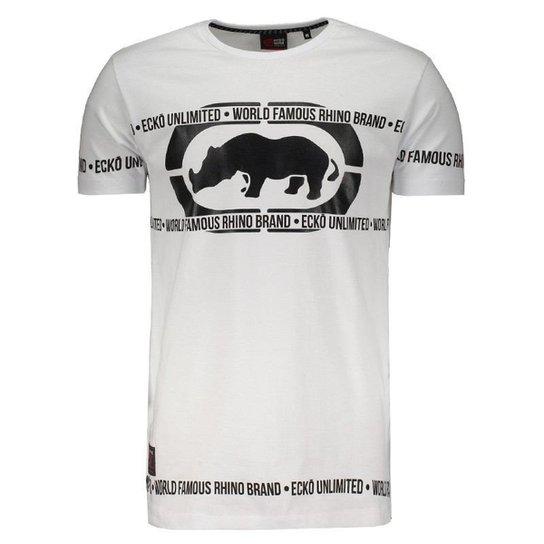 4f918fa511c Camiseta Ecko Especial Logo Masculina - Compre Agora