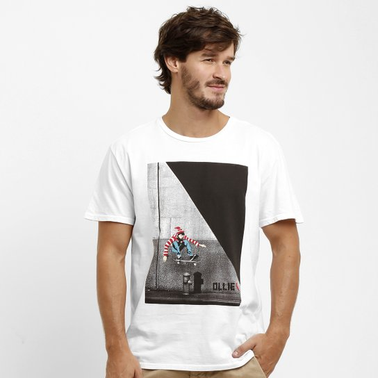 5abd0624ac Camiseta Reserva Wally Skate - Compre Agora