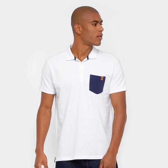 59cd449e93 Camisa Polo Reserva Piquet Poá Bolso Masculina - Compre Agora
