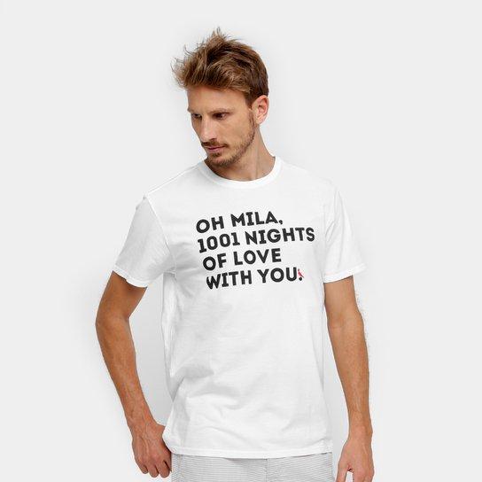 5aabafb132 Camiseta Reserva Estampa Oh Mila Masculina - Compre Agora