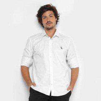 Camisa Reserva Slim Fit Manga Longa Masculina b1bdc274096b2
