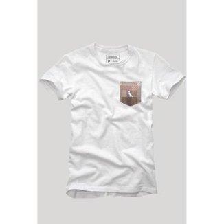 c8b877e300621 Camiseta Bolso Xadrez Quadrilha Reserva Masculina