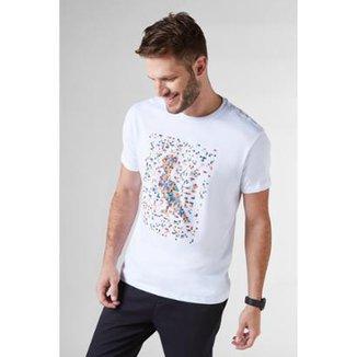 89f333fe66 Camiseta Pica-Pau Pixels Reserva Masculina