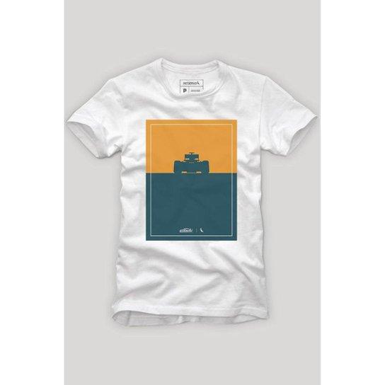 c601a878e Camiseta Reserva Silhueta Masculina - Branco - Compre Agora