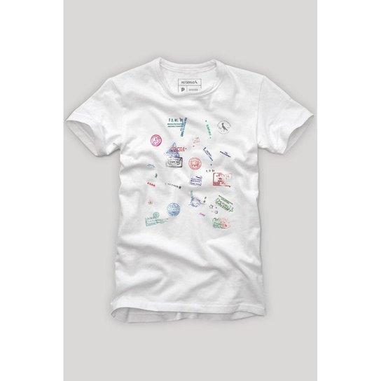 c40bfd77d Camiseta Reserva Imigração Masculina - Branco - Compre Agora