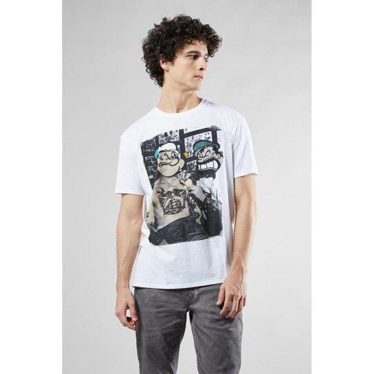 278e42144d Camiseta Reserva Estampada Popeye Tattoo - Compre Agora