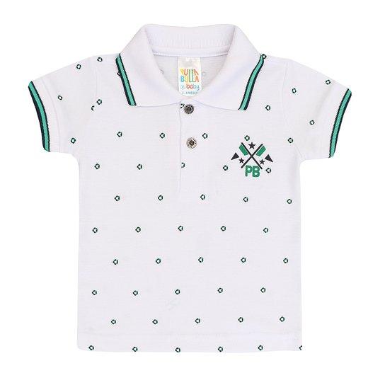 8e4d12fd65 Camiseta Infantil Polo Manga Curta Pulla Bulla Masculino - Compre ...