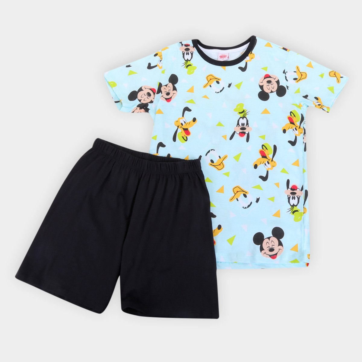 Pijama Juvenil Evanilda Disney Mickey Masculino