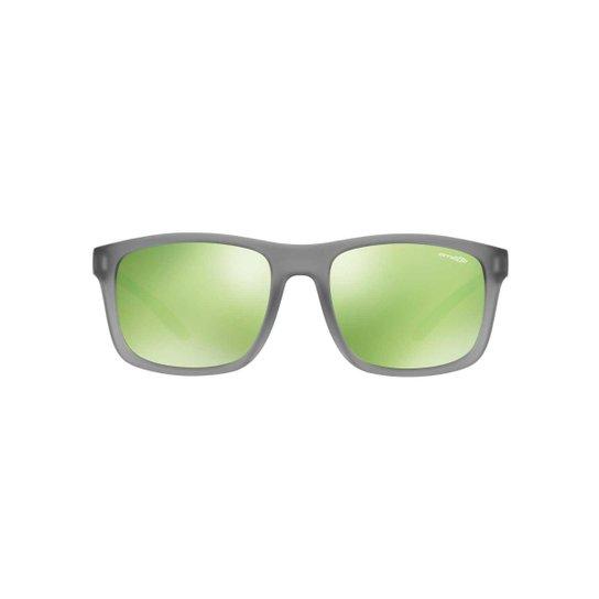 8781403a11ba4 Óculos de Sol Arnette Quadrado AN4233 Complementary Masculino - Cinza+Verde