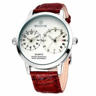 8bd844ba15d Relógio Skone Analógico 9142