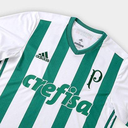 f4e3a8b33 ... Camisa Palmeiras II 17/18 s/nº Torcedor Adidas Masculina. Passe o mouse  para ver o Zoom
