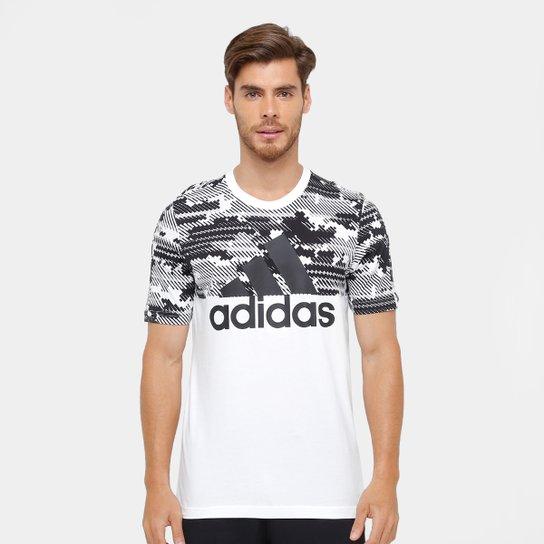 57af73186b341 Camiseta Adidas Mc Ess Aop Masculina - Compre Agora