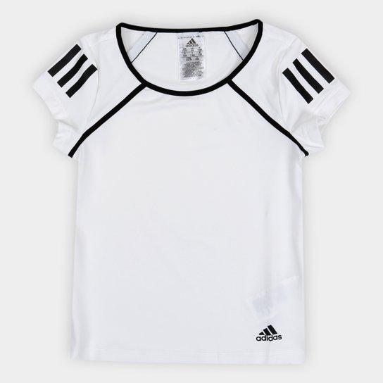 00c506dcd26c6 Camiseta Infantil Adidas G Club Proteção UV Feminina - Branco | Zattini