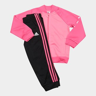 8cea15f0ceb Agasalho Infantil Adidas I E Shiny