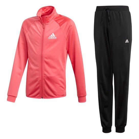 d4317c0fdea Agasalho Infantil Adidas Yg S Entry Ts Feminino - Rosa e Preto ...