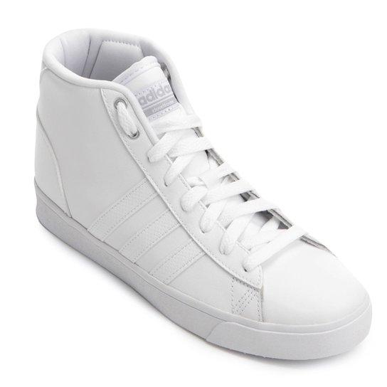 d668c509a4b Tênis Adidas Cloudfoam Daily QT Feminino - Branco - Compre Agora ...