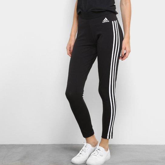 ed935017e Calça Legging Adidas Essentials 3S Feminina | Zattini