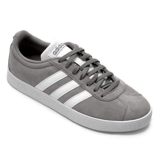 360f5409c8a Tênis Adidas Vl Court 2.0 Masculino - Cinza - Compre Agora