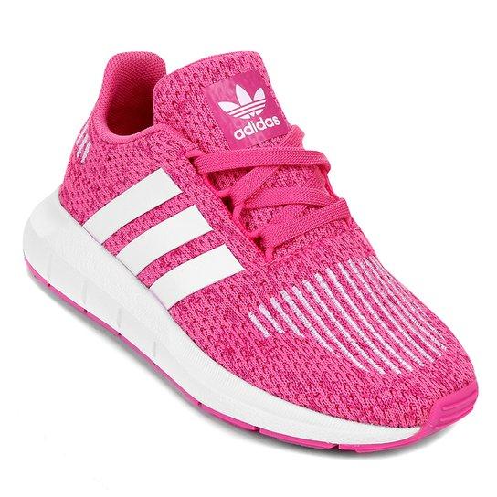 Tênis Infantil Adidas Swift Run C Feminino - Compre Agora  29b0a206e2c48