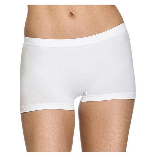 18e5d798b Calcinha Zee Rucci Zee Rucci Boxer - Branco - Compre Agora