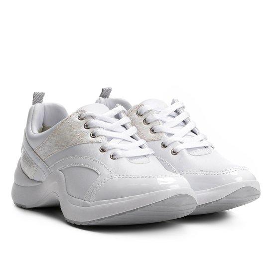 7ddd2651e0d Tênis Ramarim Chunky Feminino - Branco - Compre Agora