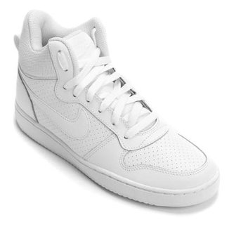 045f3fad7c6 Tênis Couro Cano Alto Nike Recreation Mid Feminino