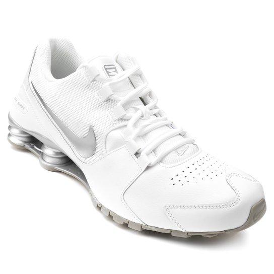 Tênis Couro Nike Shox Avenue LTR Masculino - Branco - Compre Agora ... 96b59710278f4