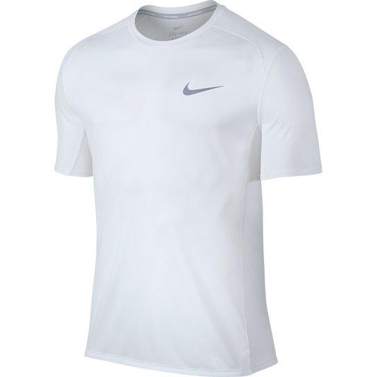 bac64cdfcc51f Camiseta Nike Dri-Fit Miler SS Masculina - Branco - Compre Agora ...