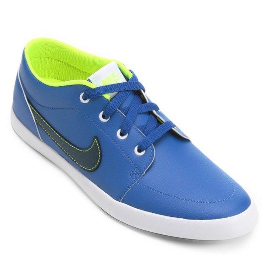 8728ee5107269 Tênis Nike Futslide SL Masculino - Azul+Branco
