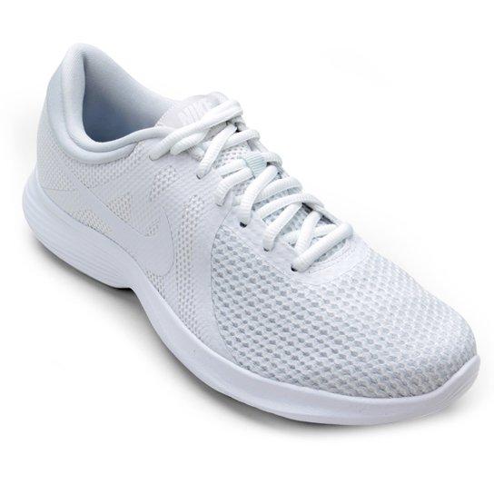 74d416810 Tênis Nike Wmns Revolution 4 Feminino - Branco - Compre Agora