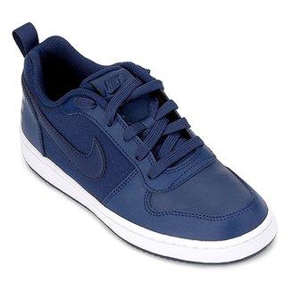 8de3af845d7 Tênis Infantil Couro Nike Court Borough Low Se Masculino
