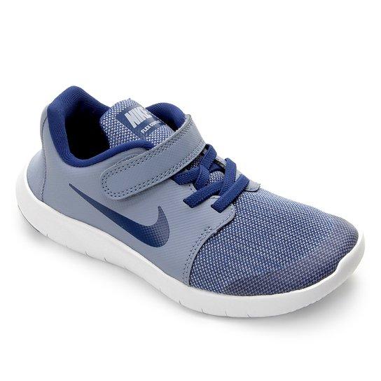 d07097ede449b5 Tênis Infantil Nike Flex Contact 2 - Azul Claro e Branco | Zattini
