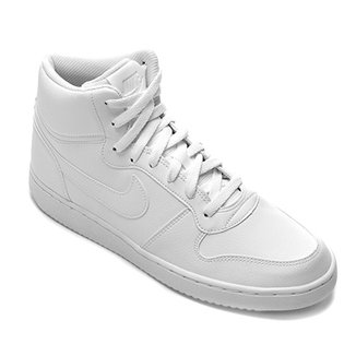 84ceceb3205 Tênis Couro Cano Alto Nike Ebernon Mid Masculino