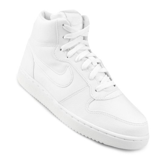 3ddad2cf307 Tênis Cano Alto Nike Ebernon Mid Feminino - Branco - Compre Agora ...