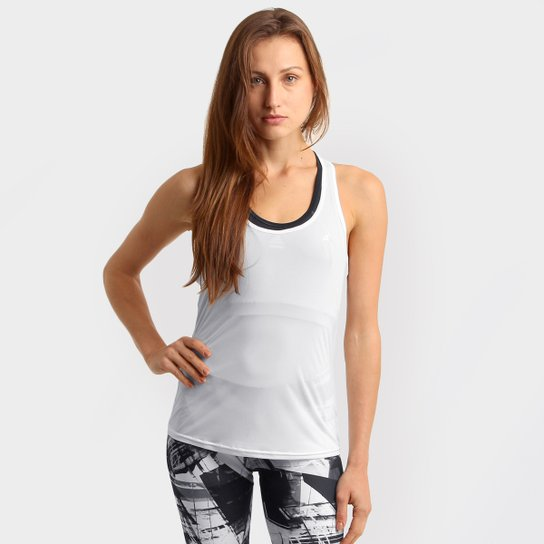 Regata Adidas ESS Clima LW Feminina - Branco - Compre Agora  d2785a454538f