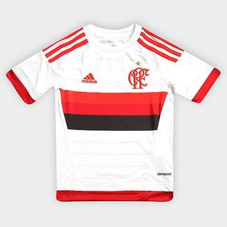 Camisa Adidas Flamengo II 15 16 s nº Infantil a9a75a5e9a42a