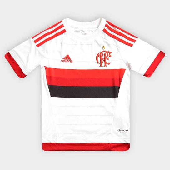 Camisa Adidas Flamengo II 15 16 s nº Infantil - Compre Agora  26596b4356922