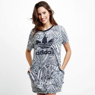 8215beead Vestido Adidas Water Jungle Tee