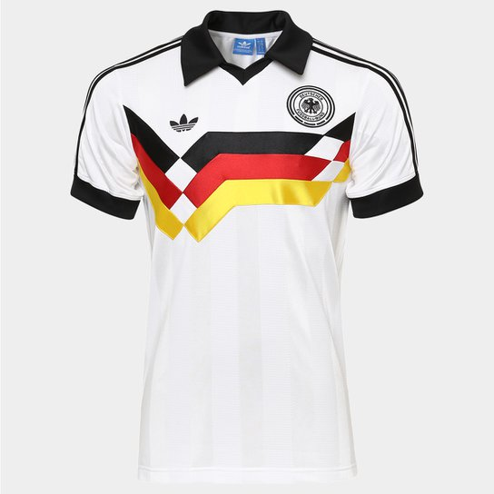 15da67883f Camisa Adidas Alemanha Retrô 1990 - Compre Agora