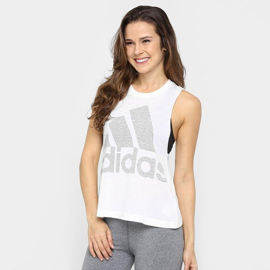 Camiseta Regata Adidas Originals Logo Sleeveless - Compre Agora ... 88e8b47be8b