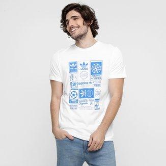 4bcafbc2b1a Camiseta Adidas Vintage Trefoil