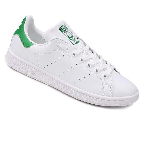 21e827150 Tênis Adidas Stan Smith - Branco e Verde - Compre Agora
