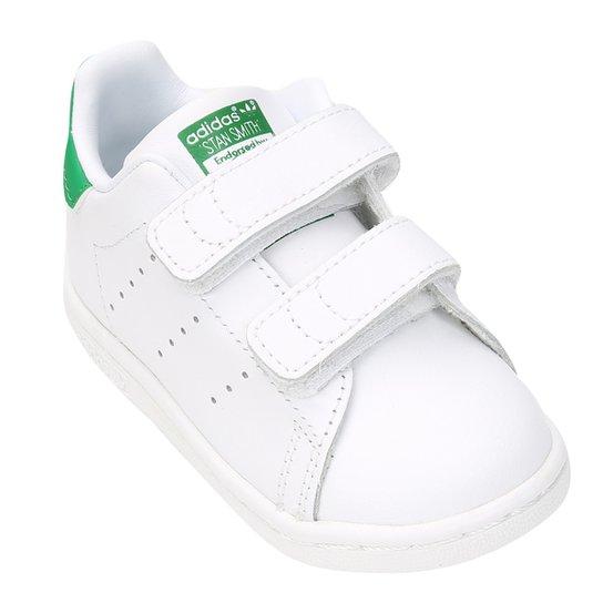 6ad7ec6caa395 Tênis Infantil Adidas Stan Smith Cf I - Compre Agora
